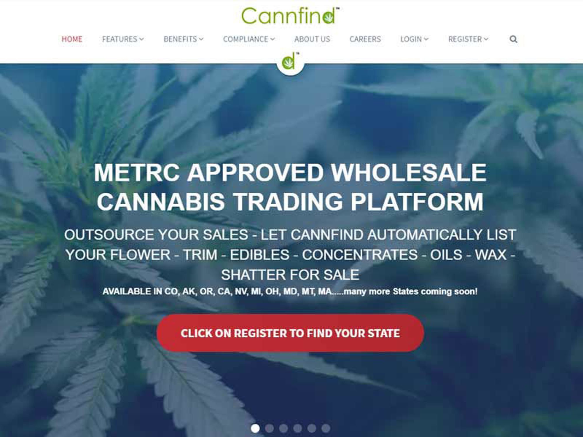 Cannfind UI